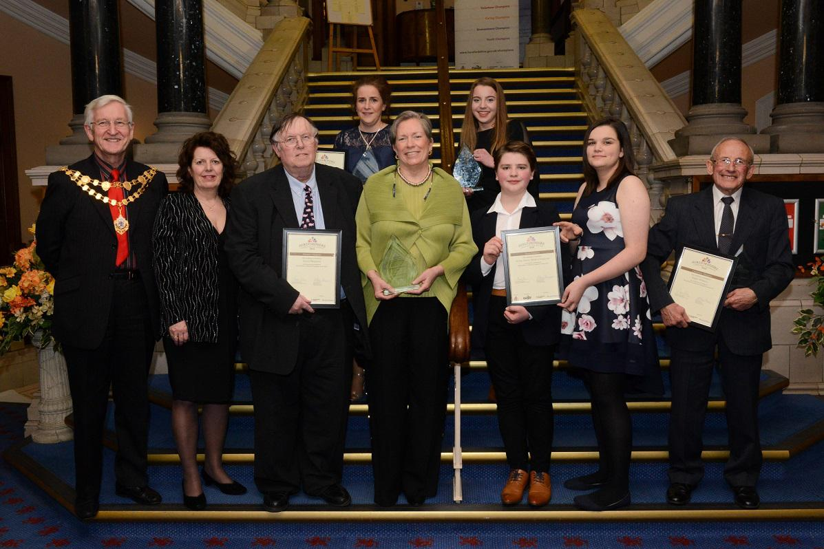 Nominations have opened for the Herefordshire Community Champions Awards 2019