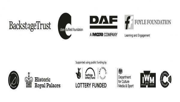 Sponsors of the poppies and weeping window
