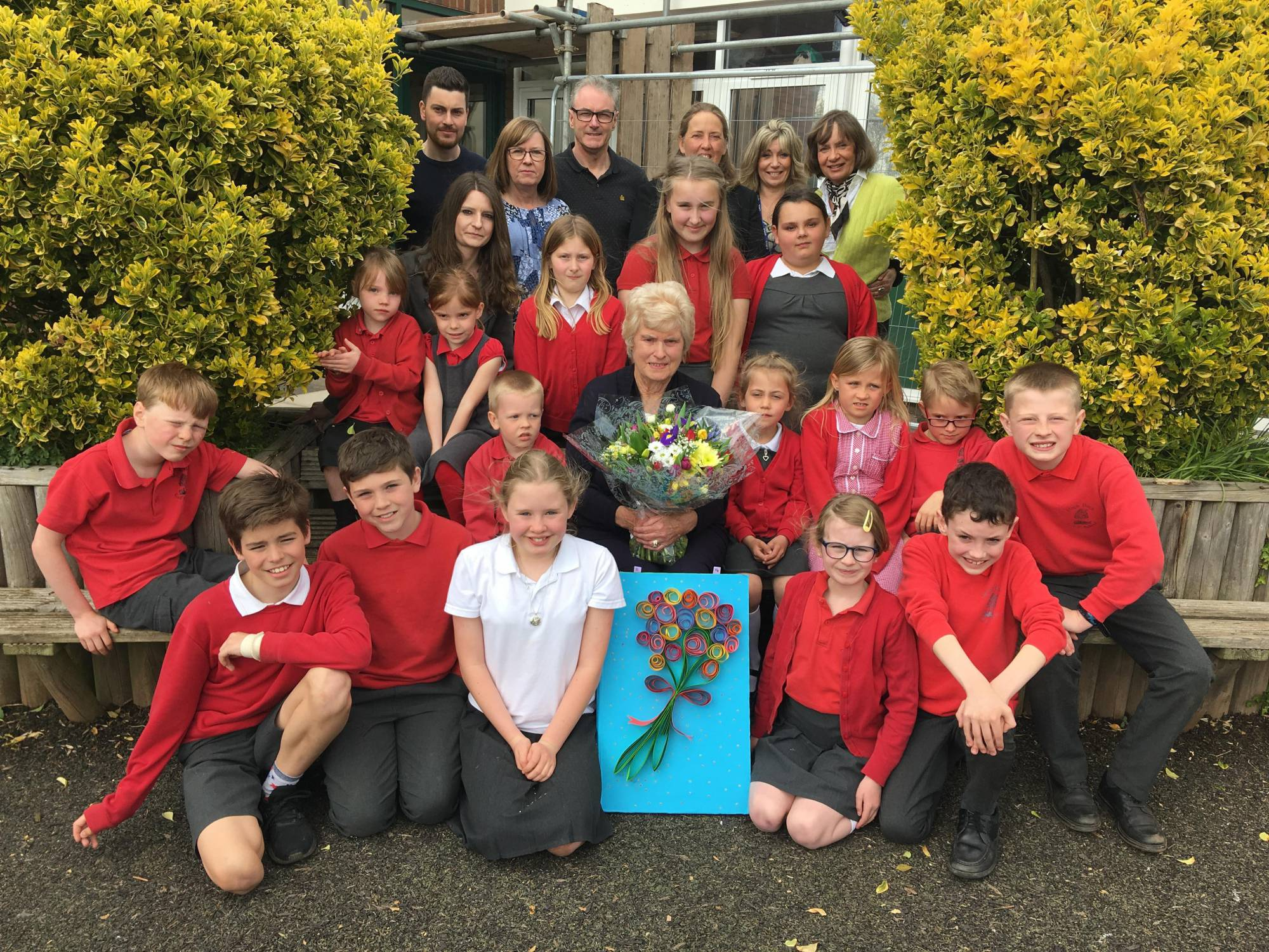 Herefordshire supervisor bids a fond farewell to staff and pupils at Much Birch CE Primary School