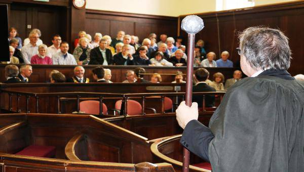 Hereford Gilbert and Sullivan society perform trial by Jury