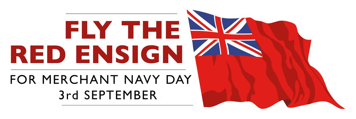 Merchant Navy Red Ensign flag to be flown in the county