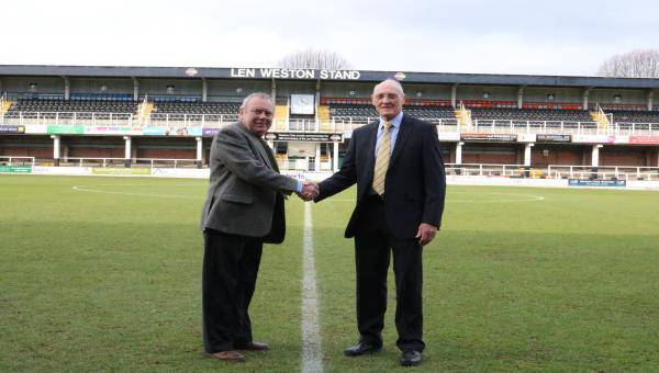 Hereford FC signs new lease