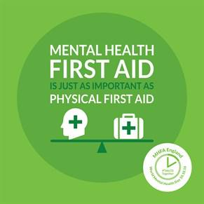 Mhfa is just as important as physical first aid