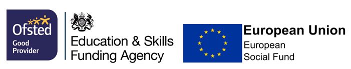 Ofsted, Education and Skills Agency and European Union funding logos