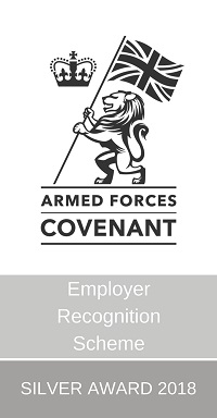 Armed Forces Covenant silver award logo