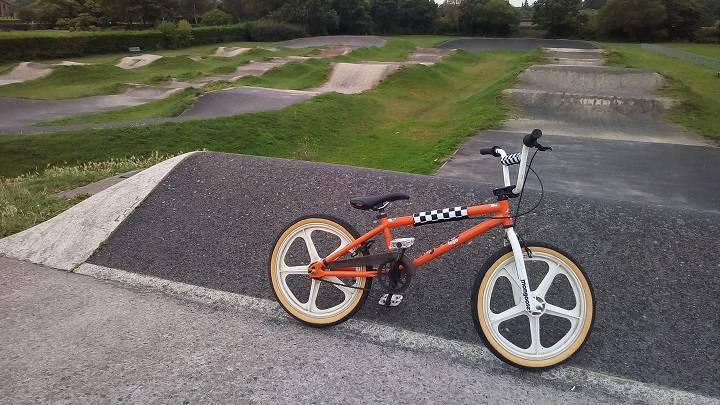 BMX at Westfaling Street BMX track