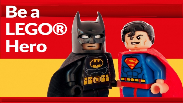 Promotional image for 'be a lego hero'