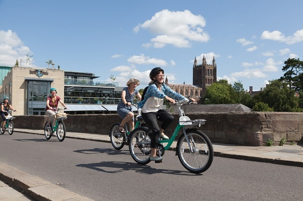 Beryl Bike Share To Offer 30 Minute Free Rides for Sustainable Christmas Shopping in Hereford