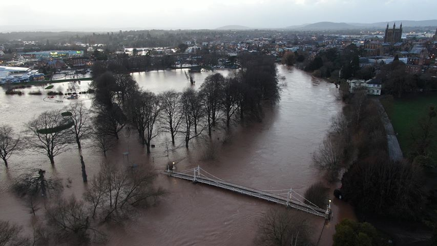 Recovery under way in parts of Herefordshire as response continues