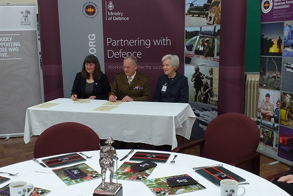Business and organisations Armed Forces event