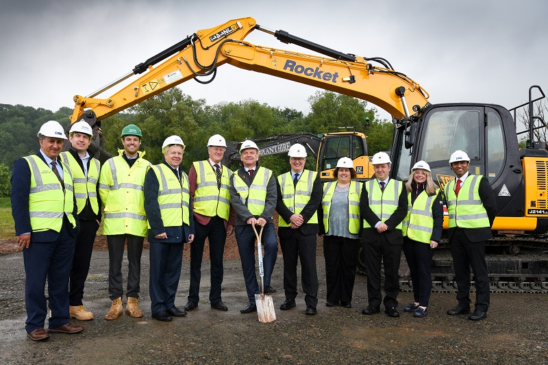 Ground breaking moment for cyber security in Hereford