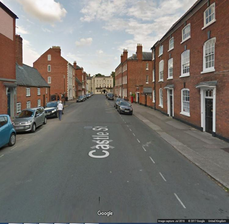Castle street from Google