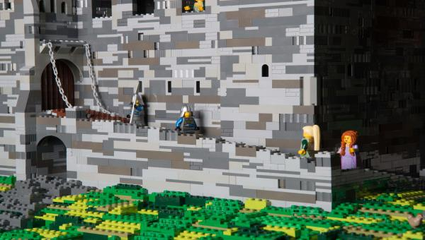 Castle in lego