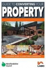 Front cover of e-pamphlet Converting your Property