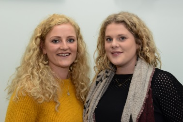 Coral Mann and Aysha Moffat, Caring Champion finalists