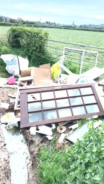 Cooper Taylor fly tipping evidence