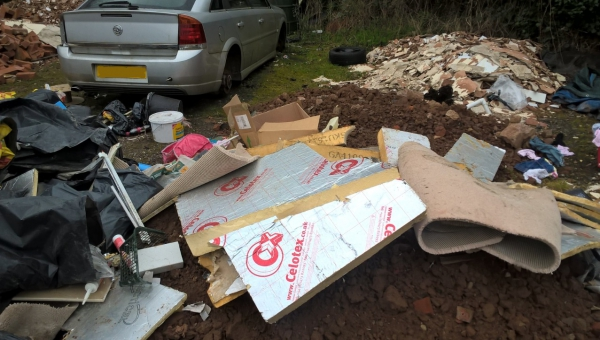 Herefordshire Council Simcox fly tipping evidence