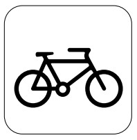 Train cycle logo