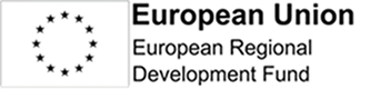 Image of logo for European Regional Development Fund