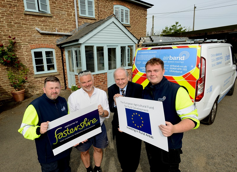 Faster broadband comes to tedstone wafre and surrounding areas fastershire aug 2019