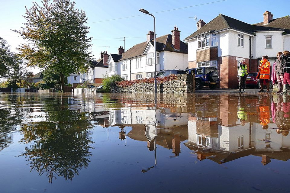 Support announced for those affected by flooding