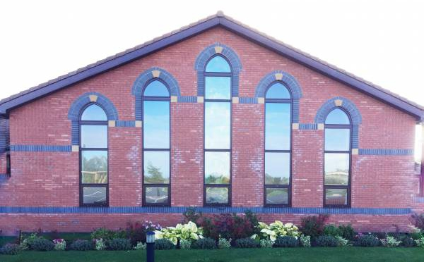Hereford Crematorium windows