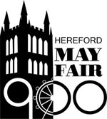 Hereford May Fair 900 logo
