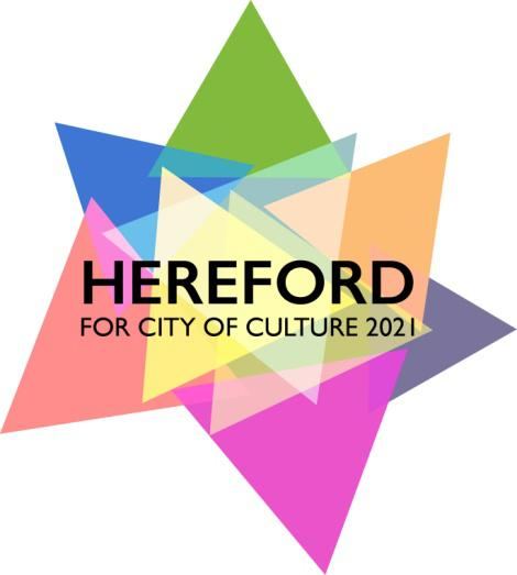 Hereford City of Culture 2021 logo