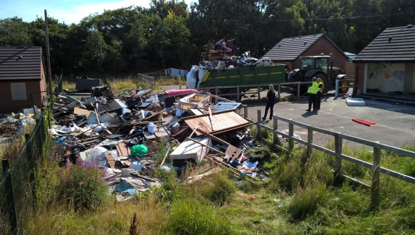 Herefordshire Council fly tipping evidence