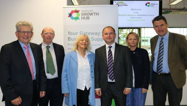 Photo of Herefordshire Council and members of rural economy select committee