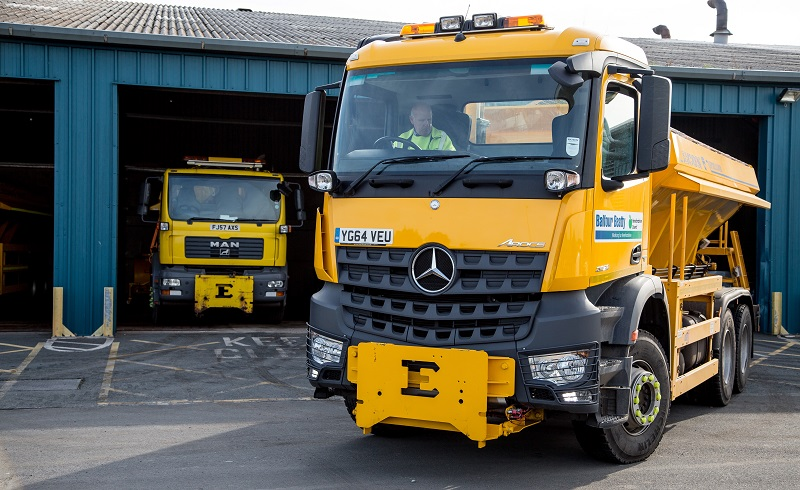 Highways teams ready for winter
