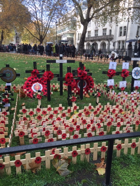 Photo of WW1 centenary commemorations in London