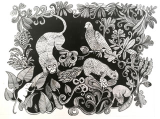 Jeanette McCulloch prints and drawings