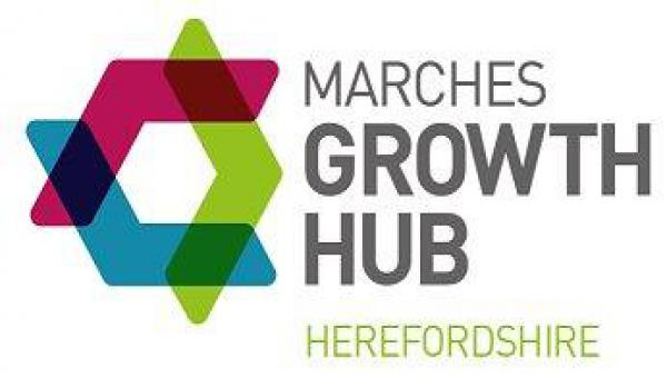 Marches Growth Hub Herefordshire logo