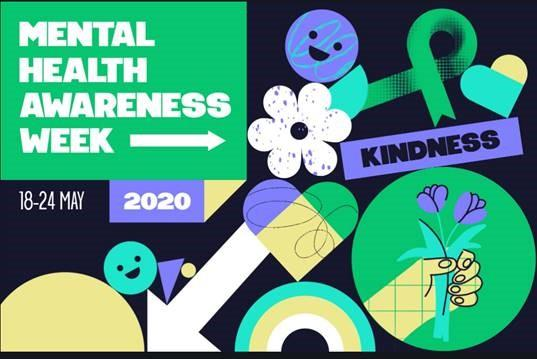 Graphic for mental health awareness week May 18 to 24
