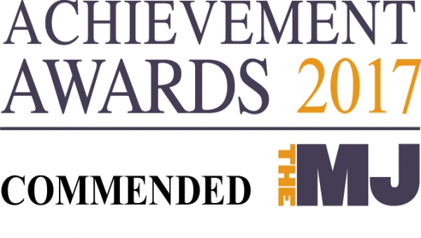 MJ Awards 2017 - Commended logo
