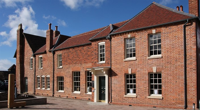 Image of outside of newly restored Master's House, Ledbury