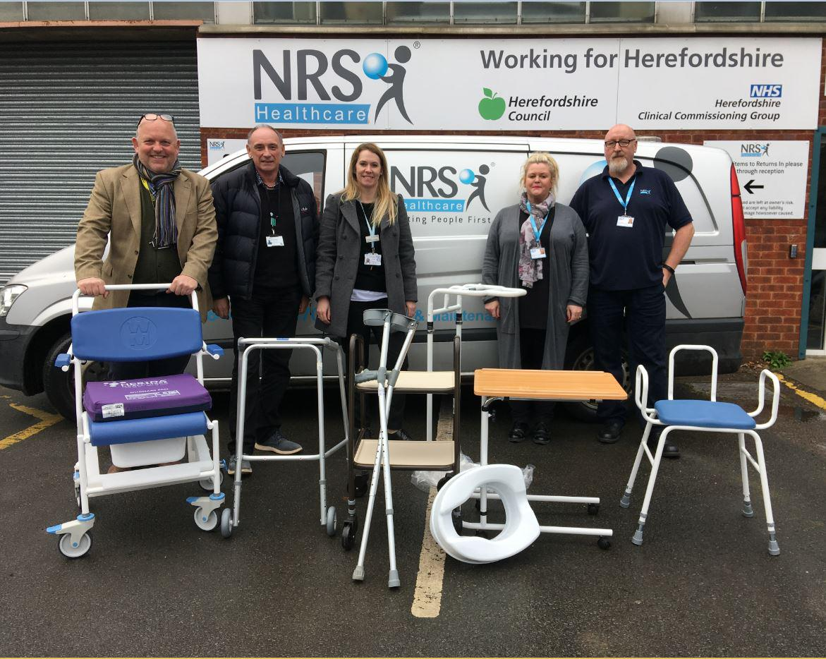 Herefordshire Council and Wye Valley Trust are urging residents to return unwanted medical equipment