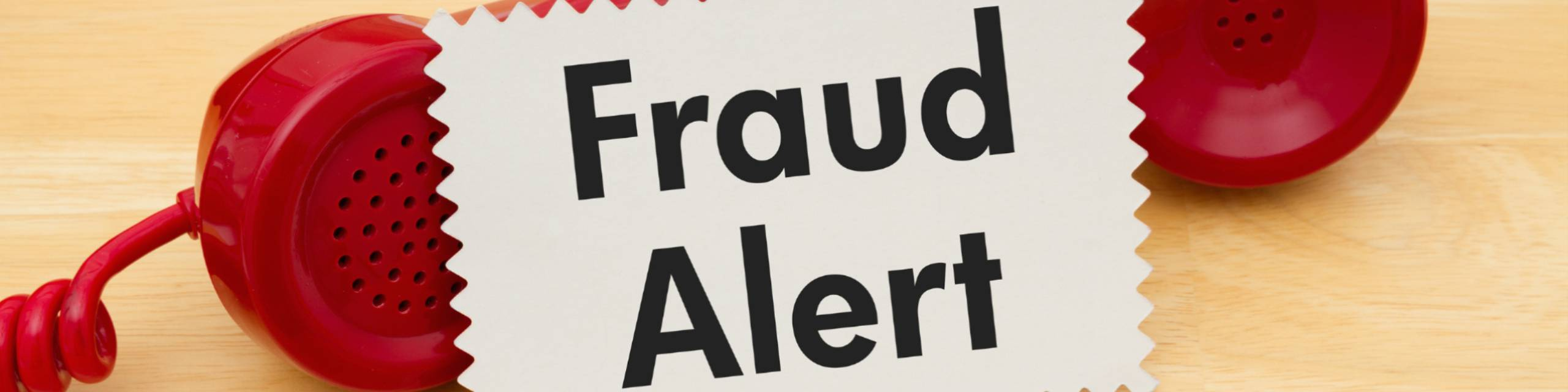Newsroom banner telephone fraud alert