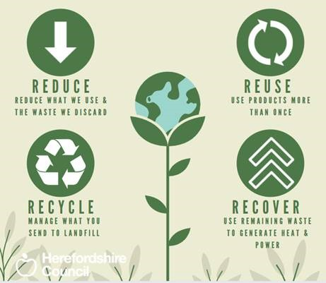Reduce reuce recycle recover