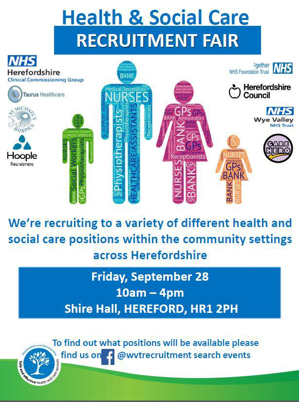 Social care jobs fair