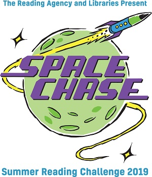 Space Chase Summer Reading Challenge logo