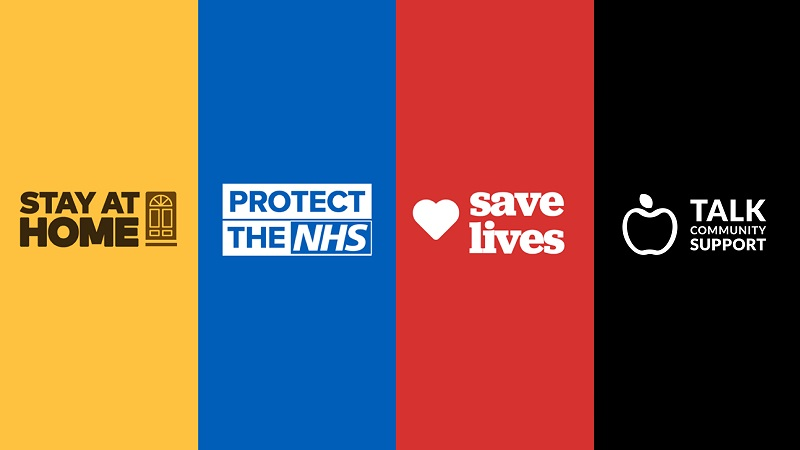 Stay at home protect nhs save lives