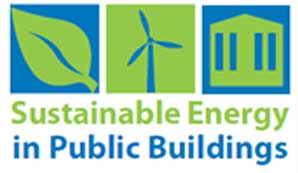 Sustainable energy in public buildings logo