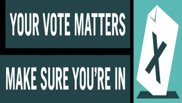 Your vote matters logo