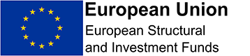 Image of logo for European structural investment funds