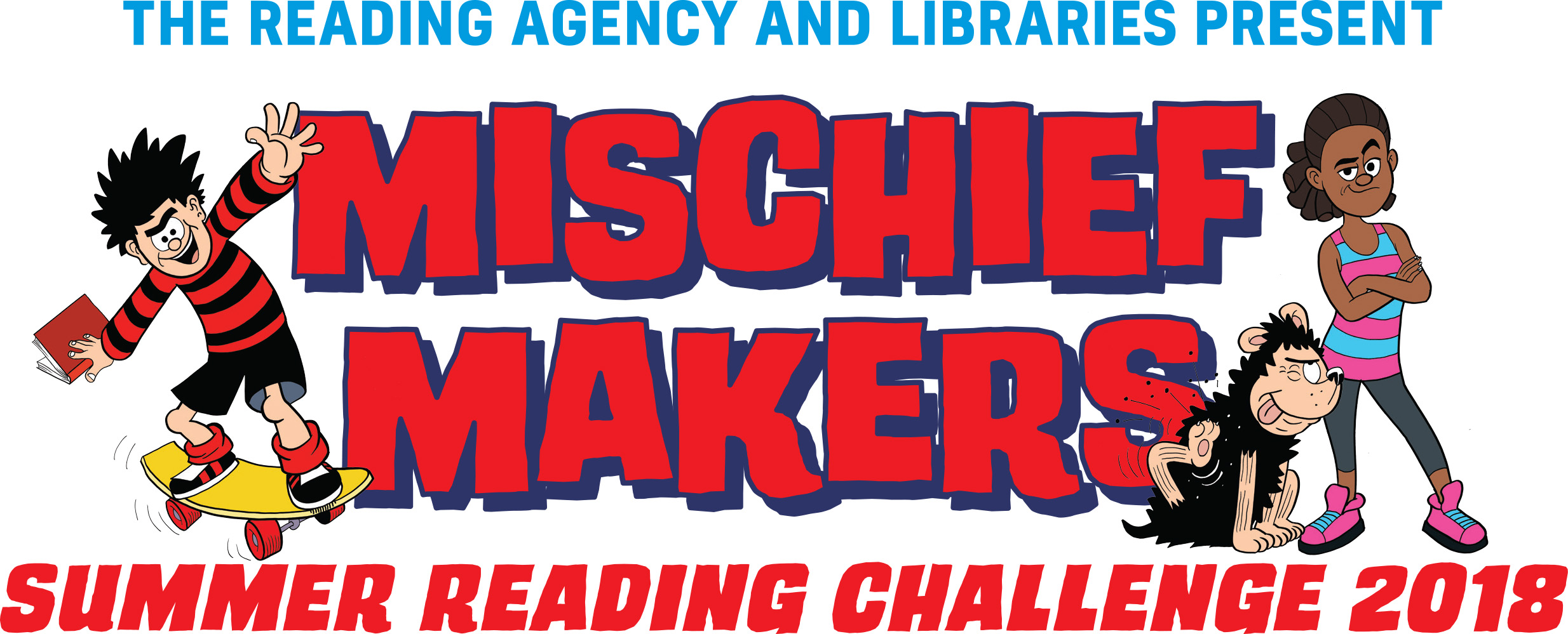 Mischief Makers Summer Reading Challenge graphic