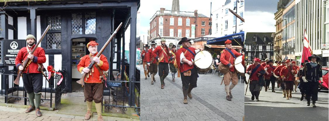 colonel John Fox regiment in Hereford