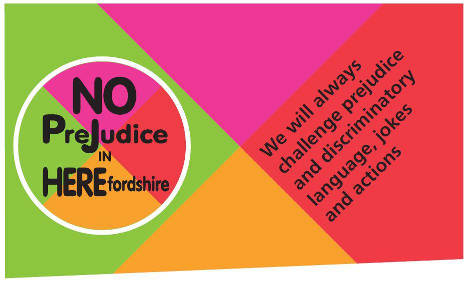No prejudice banner
