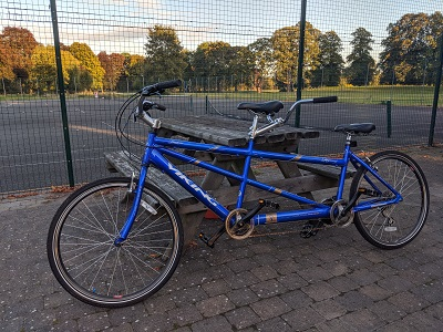 Tandem bike for hire